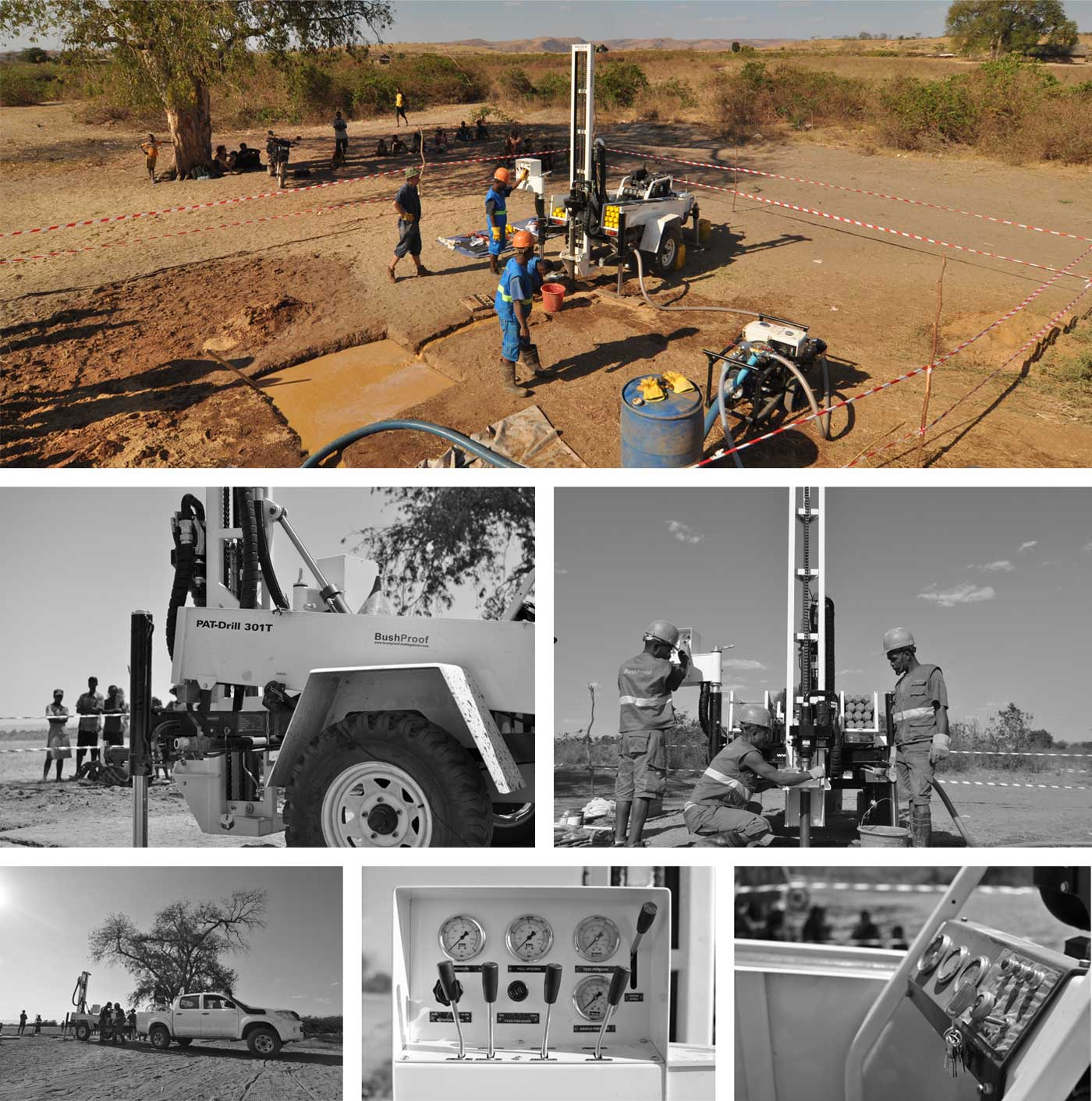 Water well drilling service - BushProof