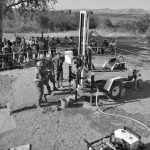Water well drilling service