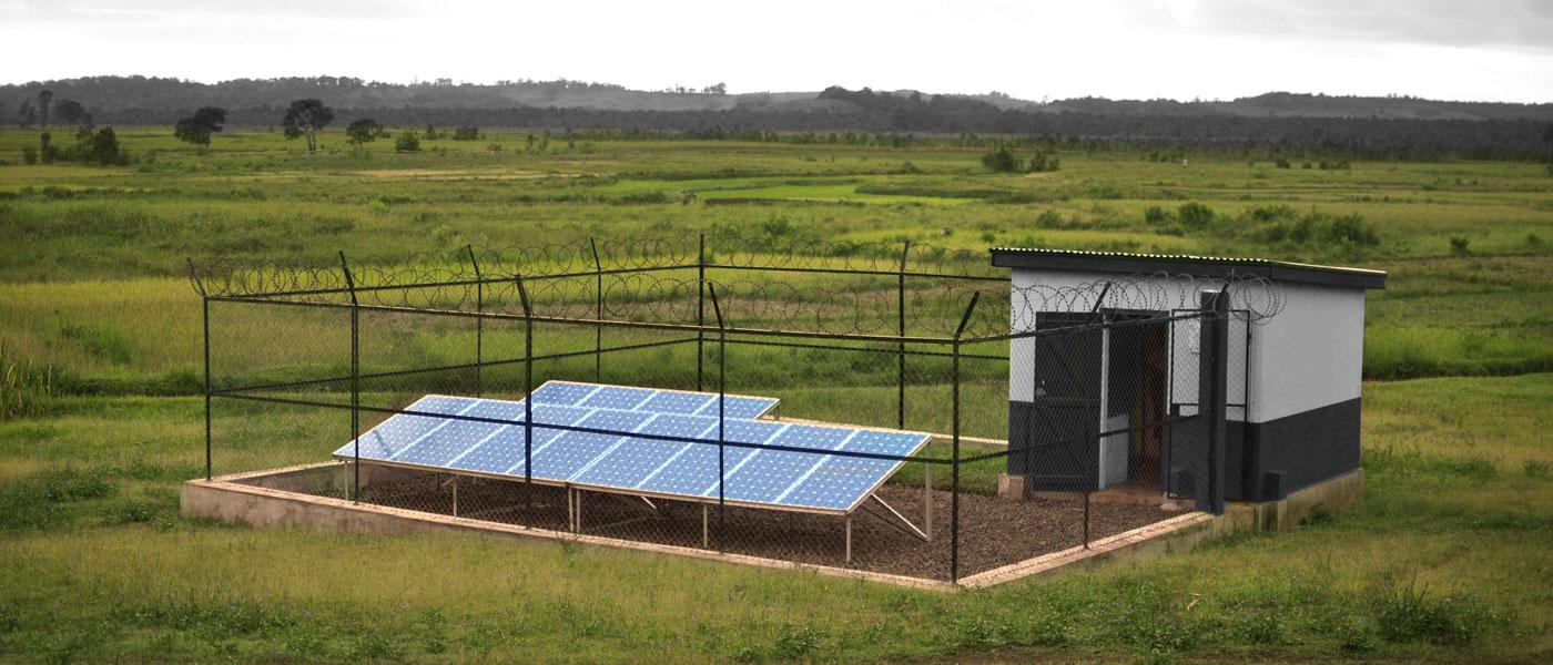 BushProof solar pumping