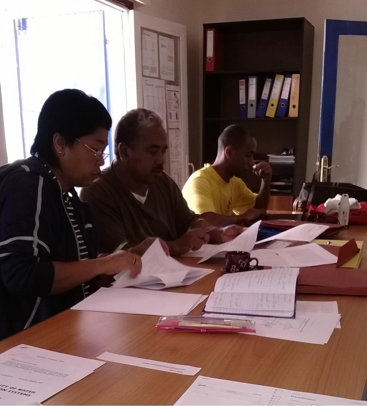 Classroom-based session, Madagascar 2014
