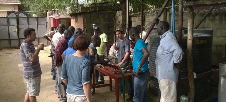 BushProof runs WASH training in South Sudan, August 2014