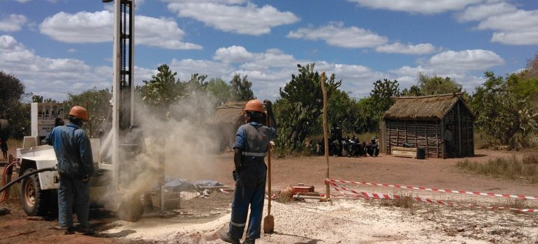 Drilling in the South-West