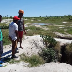 Prospection in perched aquifers in southern Madagascar
