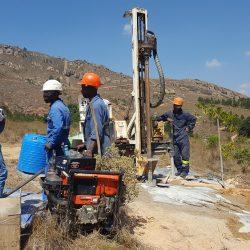 Drilling for Eau-Vive