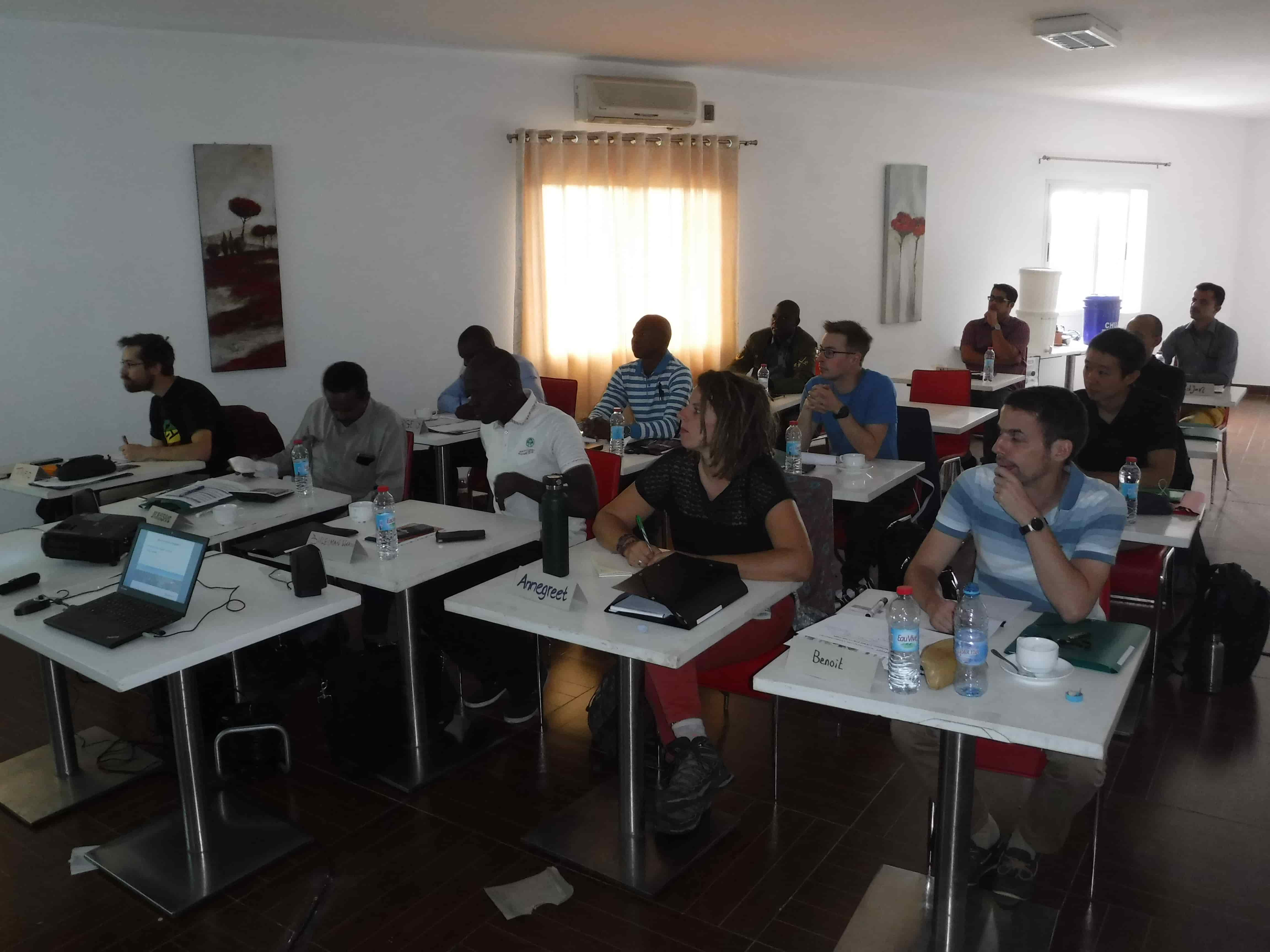 Classroom - water infrastructure training